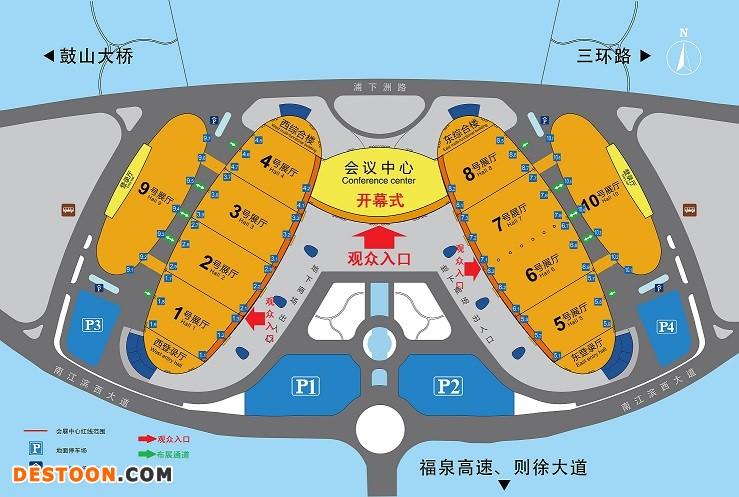 福州展团平面图11