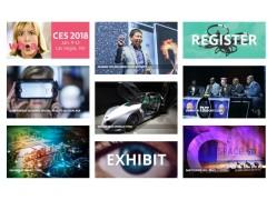 美国CES展会门票、邀请函-2018美国电子展CES
