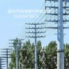 临沧市31米单回路转角钢杆 钢管杆 打桩施工