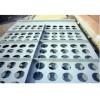 除尘器花板采用400T冲床加工